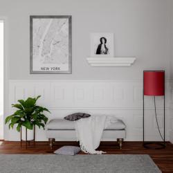 Põrandavalgusti punane E27 60W VIESTE